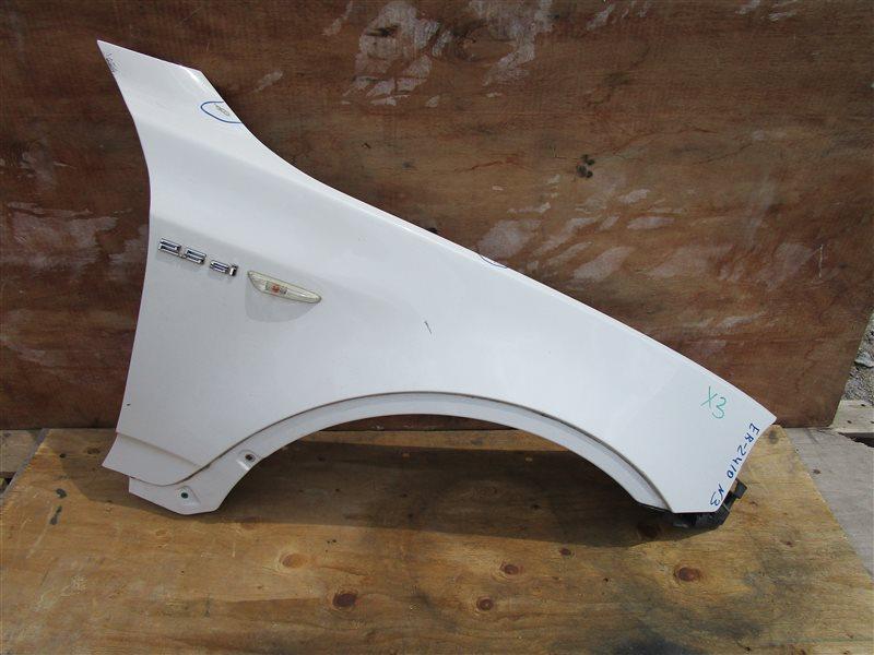 Крыло Bmw X3 E83 N52B25A 2006 переднее правое