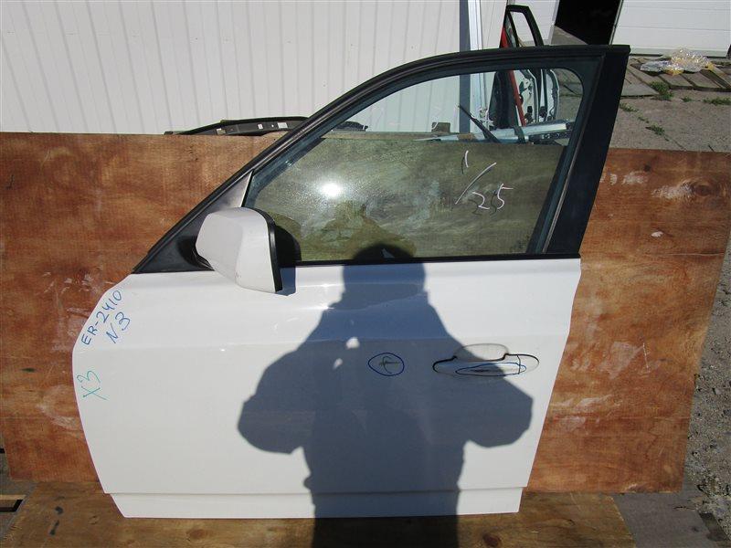 Дверь Bmw X3 E83 N52B25A 2006 передняя левая