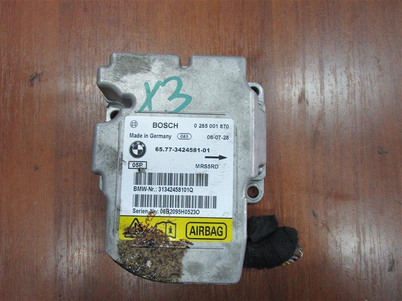 Блок управления аирбаг Bmw X3 E83 N52B25A 2006