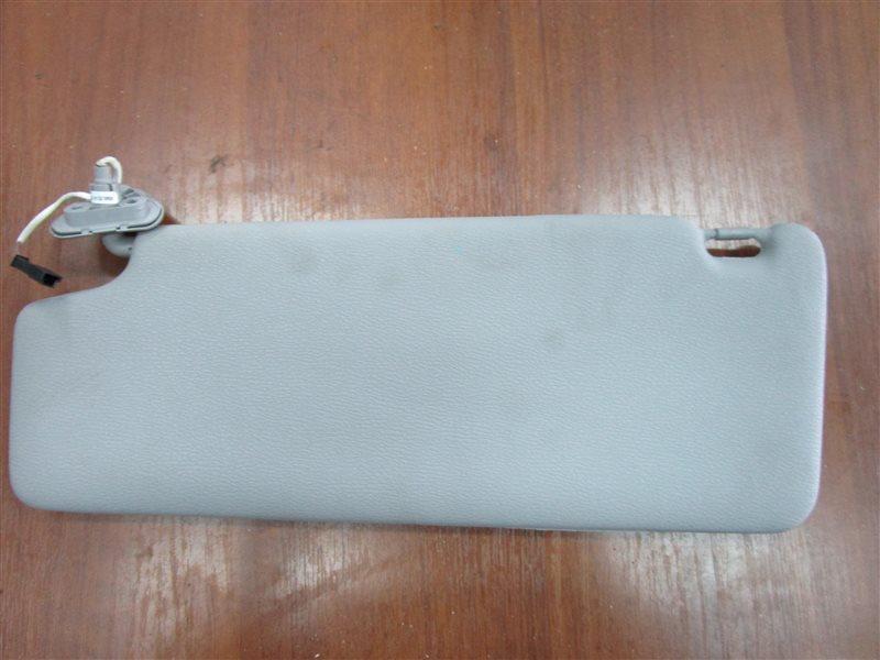 Козырек солнцезащитный Bmw X3 E83 N52B25A 2006 передний правый