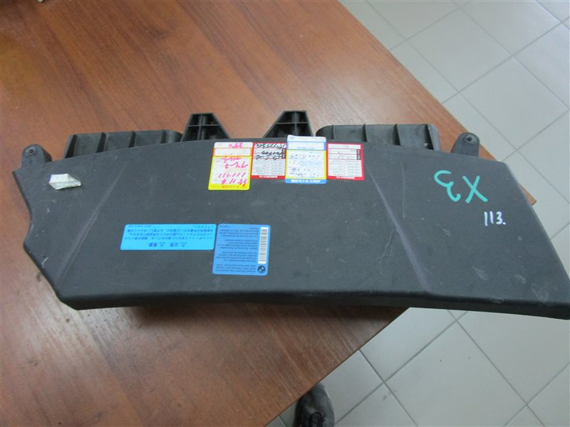 Воздухозаборник Bmw X3 E83 N52B25A 2006