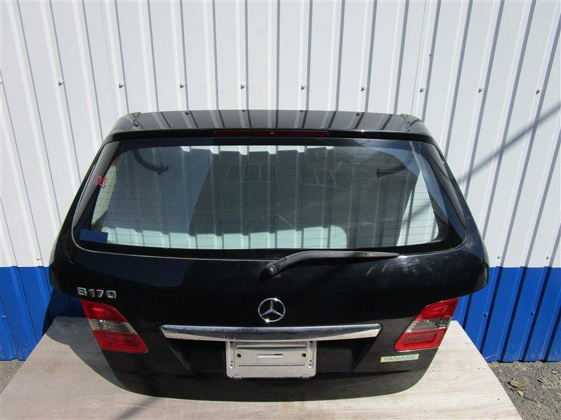Крышка багажника Mercedes-Benz W245 266.940 2008 задняя