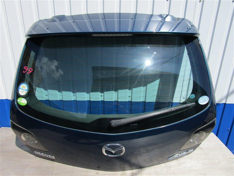 Крышка багажника Mazda 3 BK5 ZY 2007