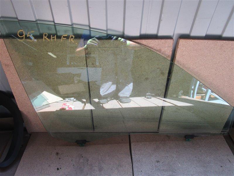 Стекло двери Toyota Camry ACV30 2AZ-FE 2005 переднее правое