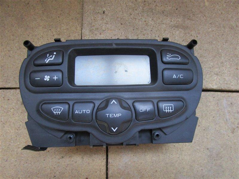Блок управления климат-контролем Peugeot 206 2EKNFU NFU10FX7PPSA 2005