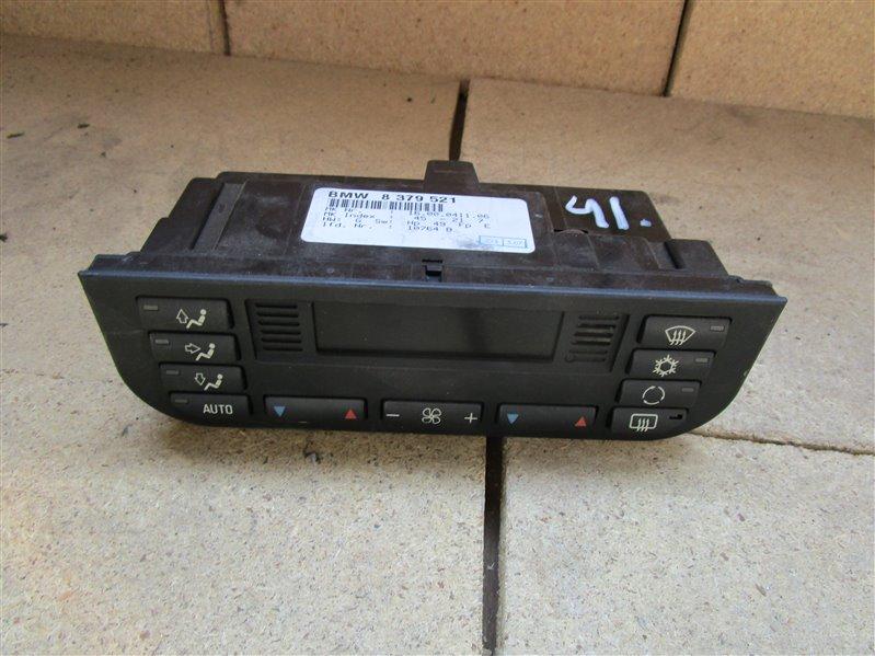 Блок управления климат-контролем Bmw 3-Series E36 206S1 M52 1997