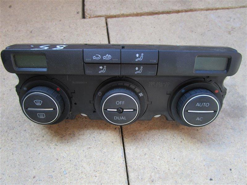 Блок управления климат-контролем Volkswagen Touran 1TBMY BLG 2008
