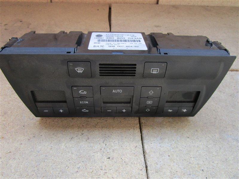 Блок управления климат-контролем Audi A6 C5 ASN 2003