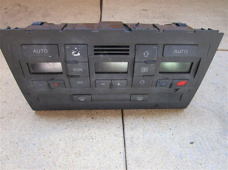 Блок управления климат-контролем Audi A4 B6 ALT 2003