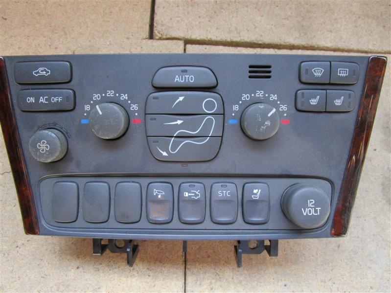 Блок управления климат-контролем Volvo S60 RB5244T B544S 2003