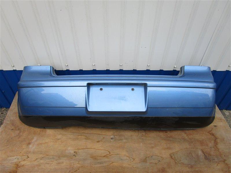 Бампер Volkswagen Polo 9N31G3 BKY 2006 задний