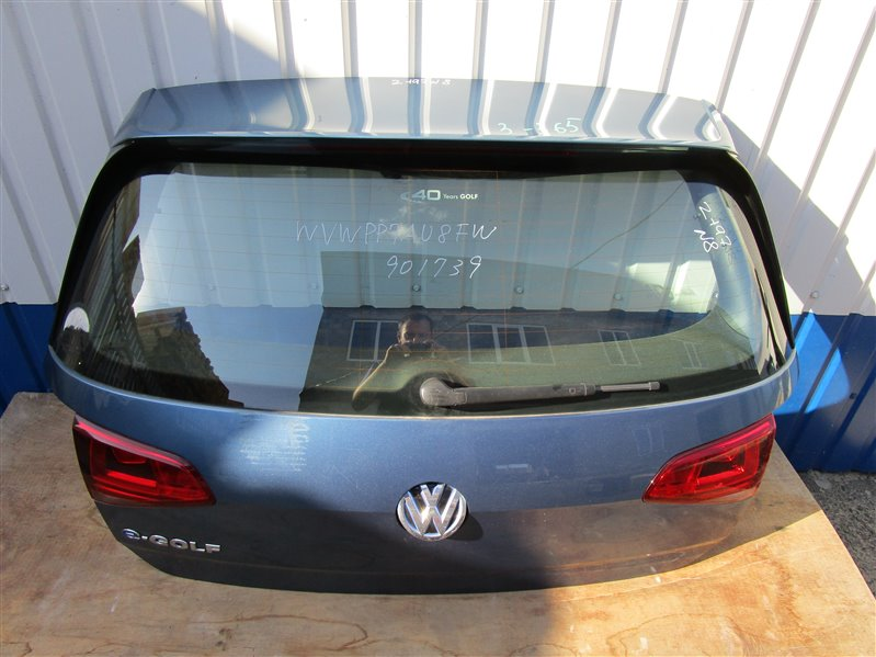 Крышка багажника Volkswagen Golf 7 5G1 2015 задняя