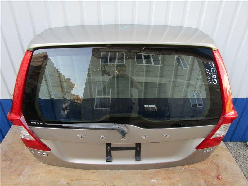 Крышка багажника Volvo V70 B5254T6 2009 задняя