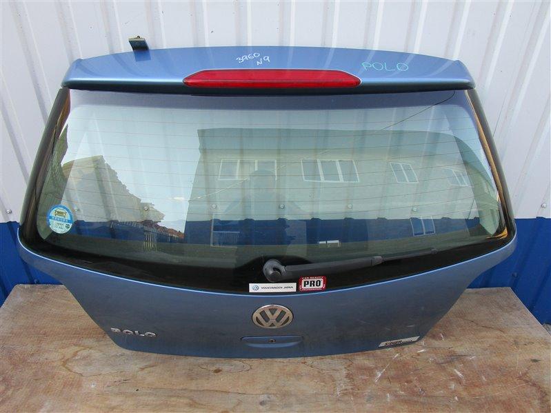 Крышка багажника Volkswagen Polo 9N31G3 BKY 2006 задняя