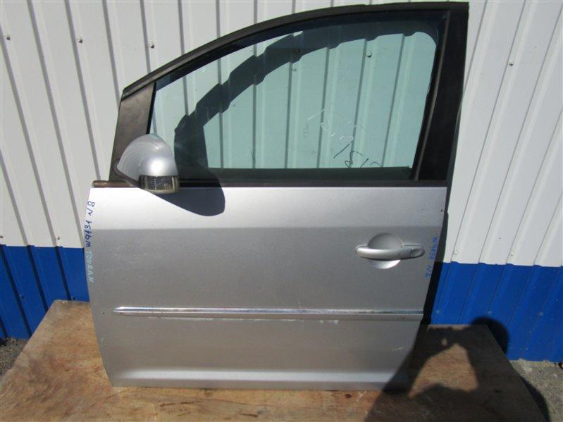 Дверь Volkswagen Touran 1T2HC3 BLG 2008 передняя левая