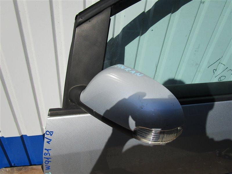 Зеркало Volkswagen Touran 1T2HC3 BLG 2008 переднее левое