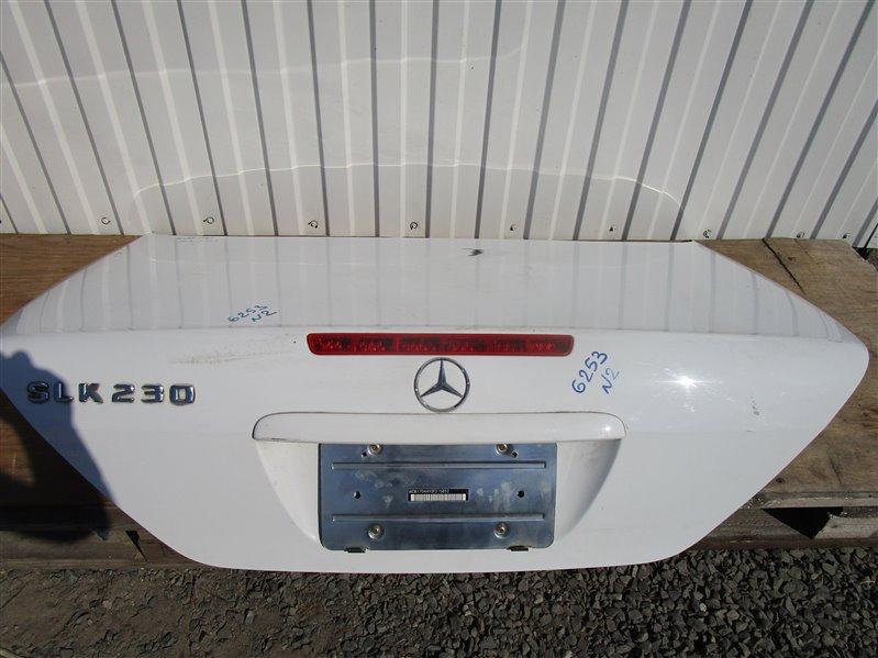 Крышка багажника Mercedes-Benz Slk R170 111.983 2000 задняя