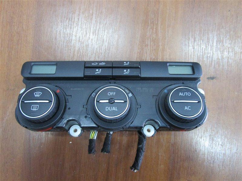 Блок управления климат-контролем Volkswagen Touran 1T2HC3 BLG 2008