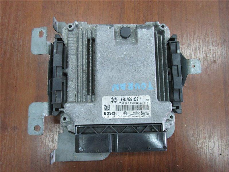 Блок управления двигателем Volkswagen Touran 1T2HC3 BLG 2008