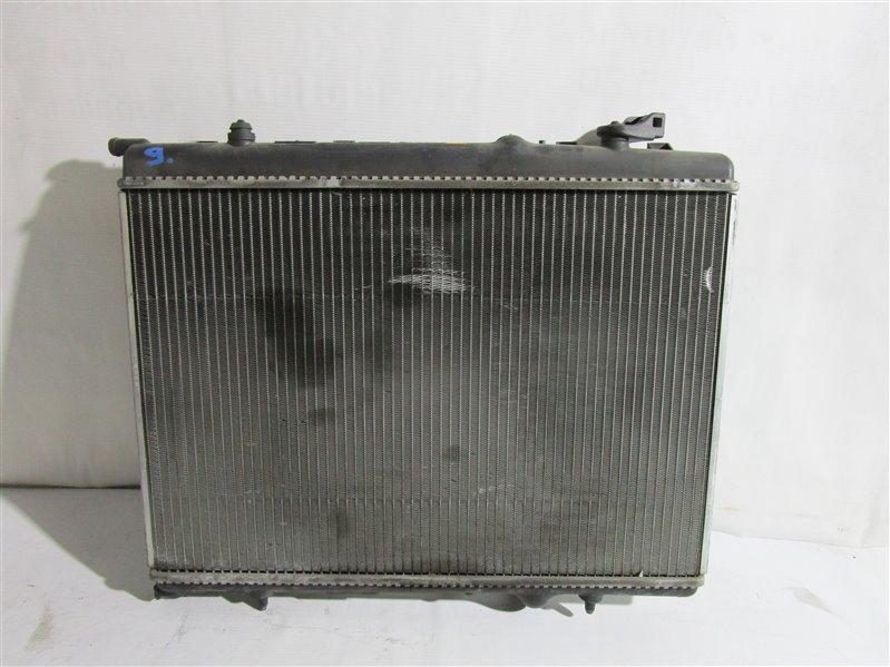 Радиатор двс Peugeot 206 2EKNFU NFU10FX7PPSA 2005