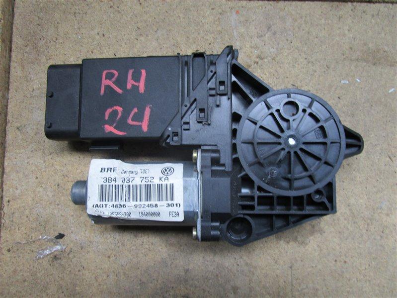 Мотор стеклоподъемника Volkswagen Passat B5+ AZM 2004 передний правый