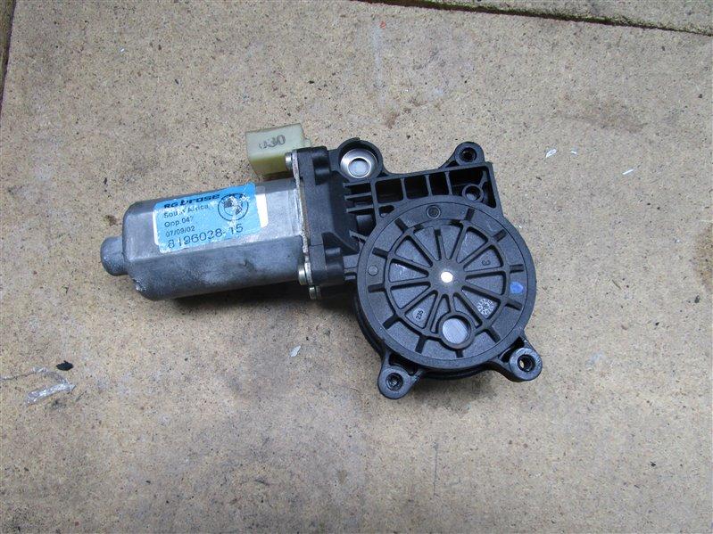 Мотор стеклоподъемника Bmw