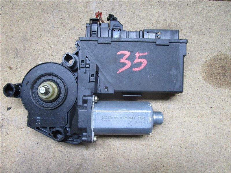 Мотор стеклоподъемника Audi A4 B6 ASN 2003 передний правый