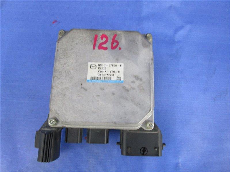 Блок управления рулевой рейкой Mazda 6 GH LF-VE (LF5-VE) 2008