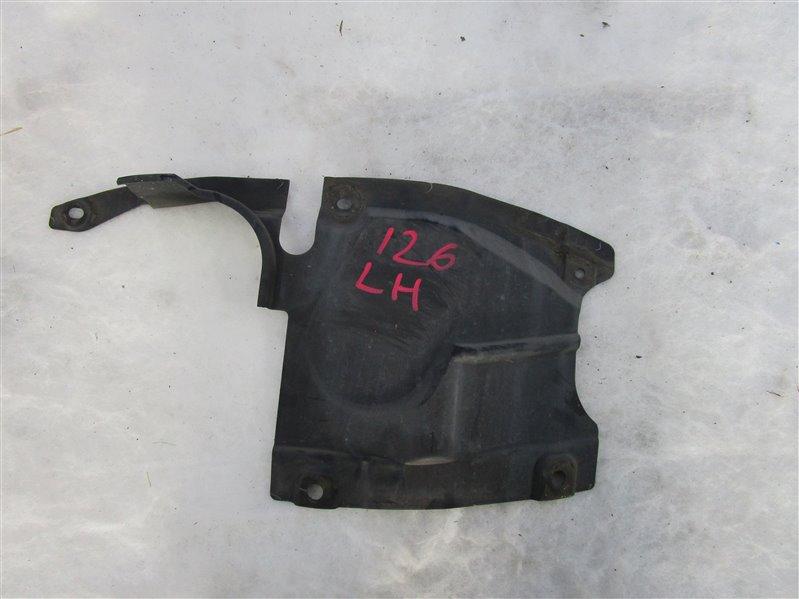 Пыльник двигателя боковой Mazda 6 GH LF-VE (LF5-VE) 2008 левый