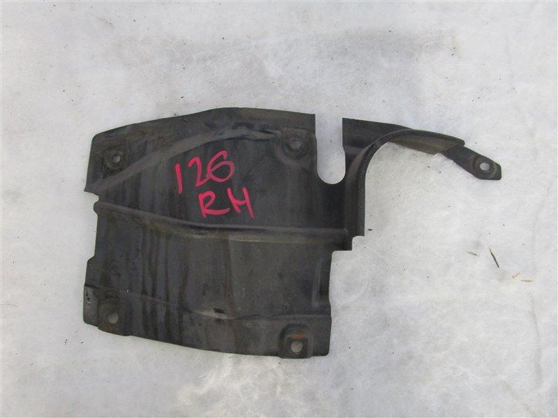 Пыльник двигателя боковой Mazda 6 GH LF-VE (LF5-VE) 2008 правый