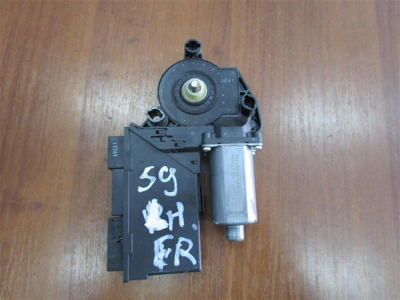 Мотор стеклоподъемника Audi A4 B7 BPW 2006 передний левый