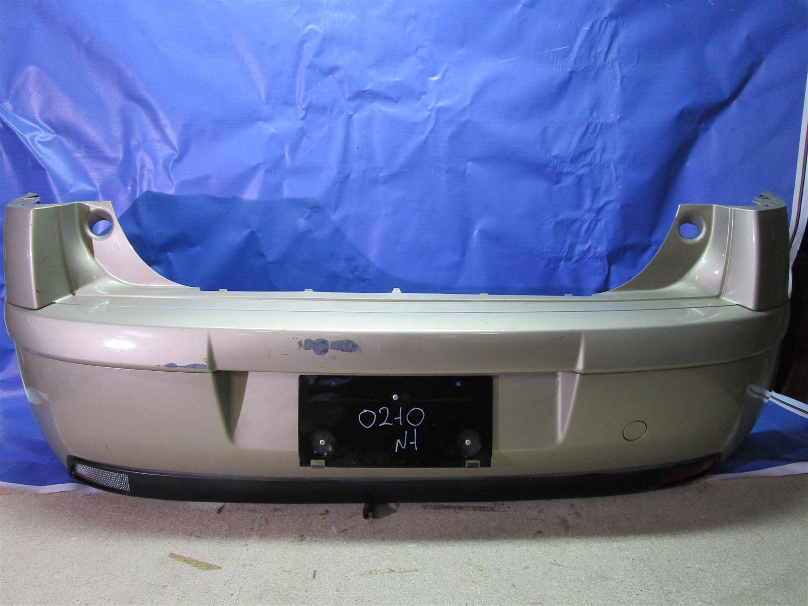 Бампер Citroen C4 TU5JP4 2006 задний