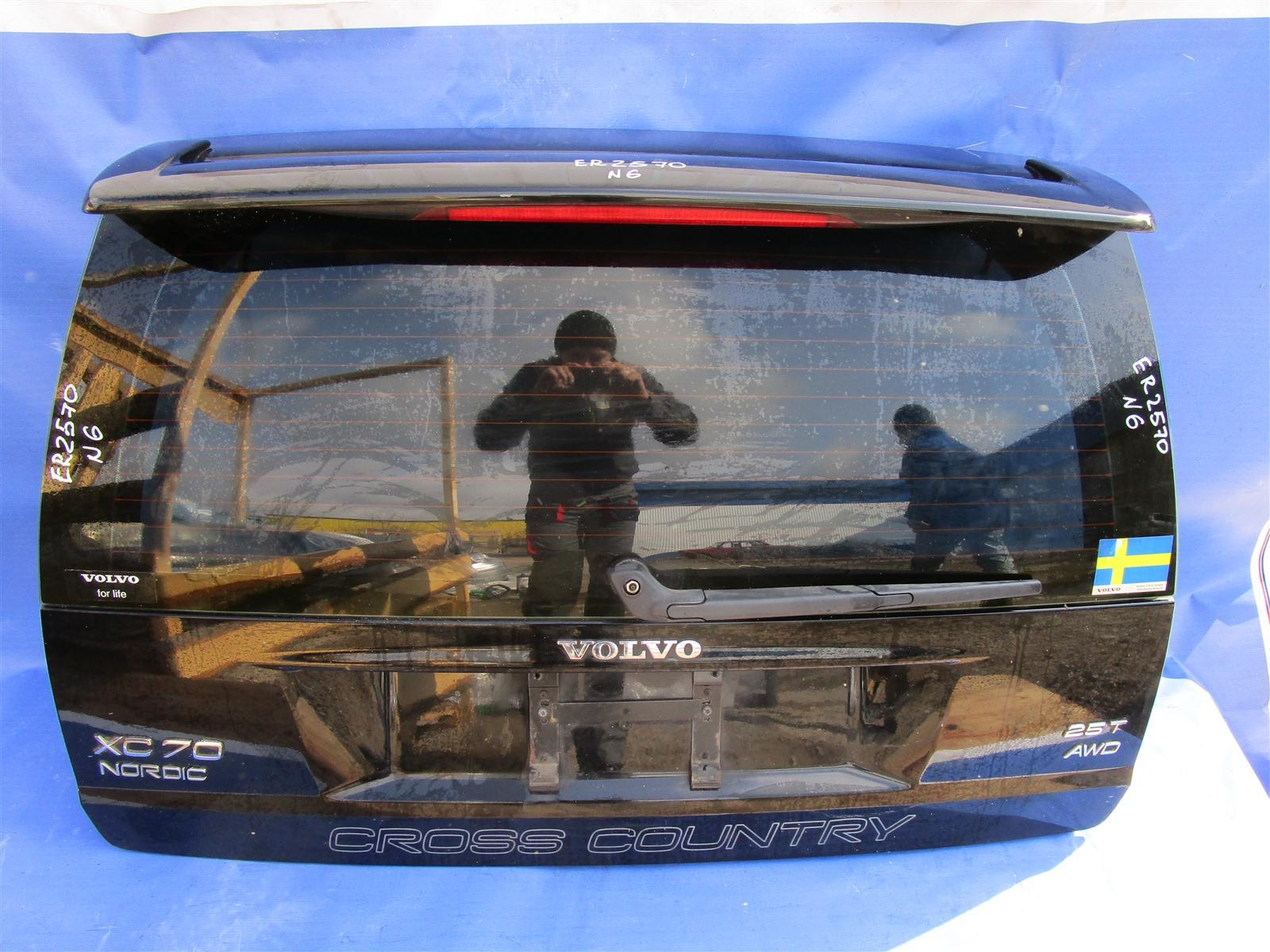 Крышка багажника Volvo Xc70 задняя