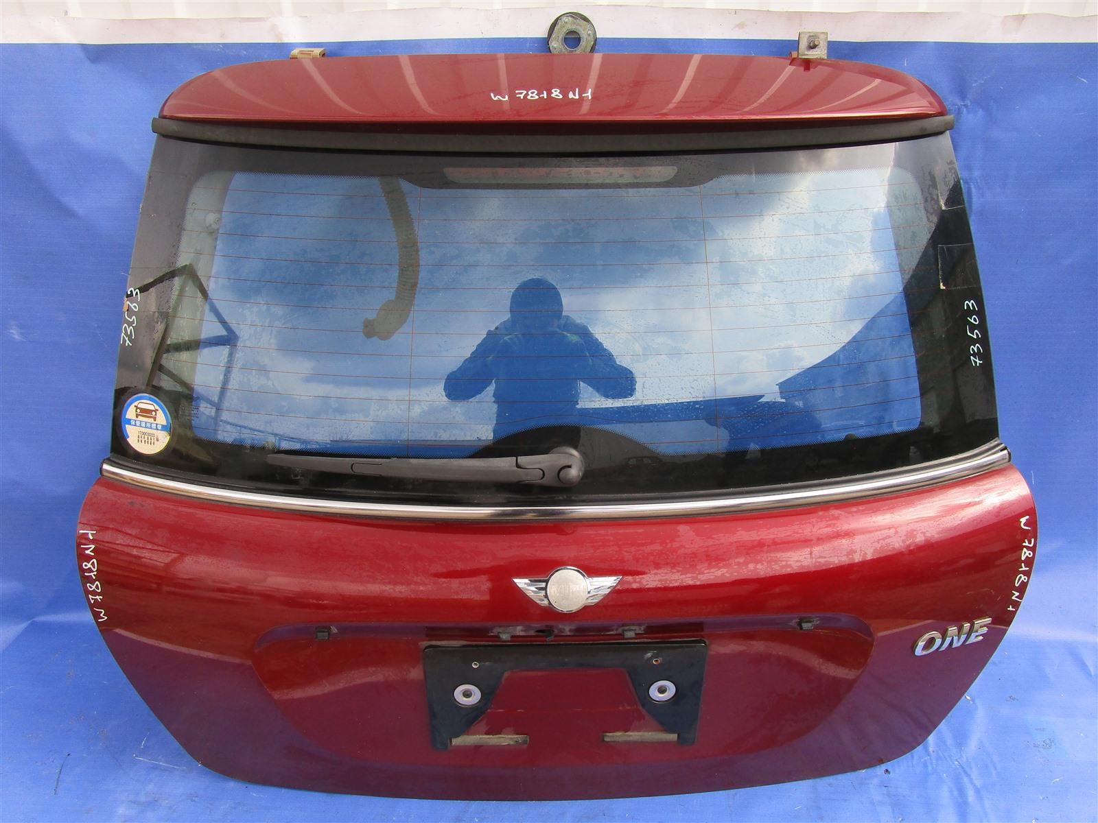 Крышка багажника Mini Cooper D N12B14A 2007 задняя