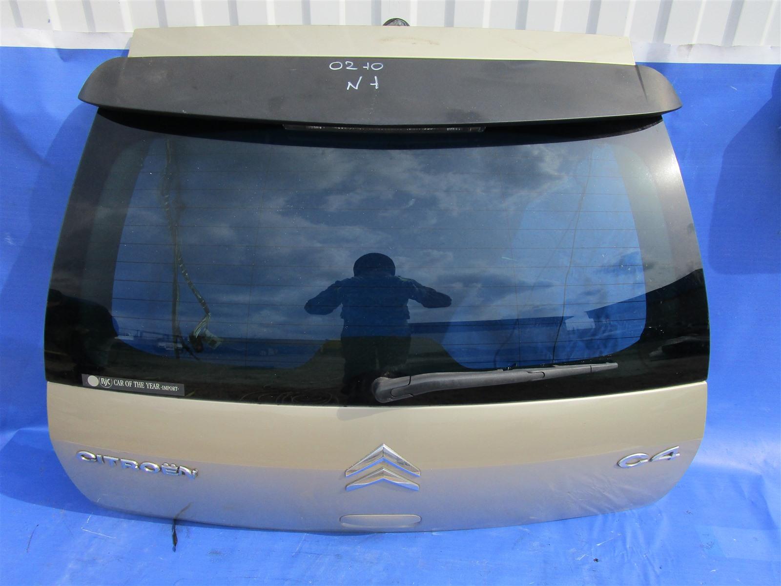 Крышка багажника Citroen C4 TU5JP4 2006 задняя
