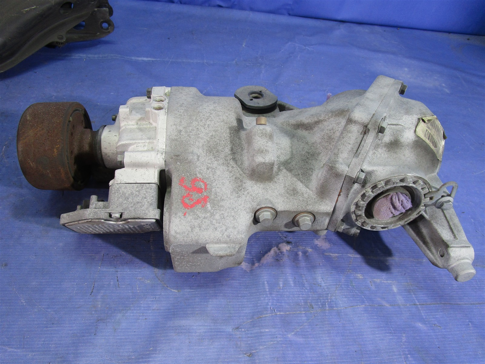Редуктор Volvo Xc90 CB5254AW B5254T2 2006 задний