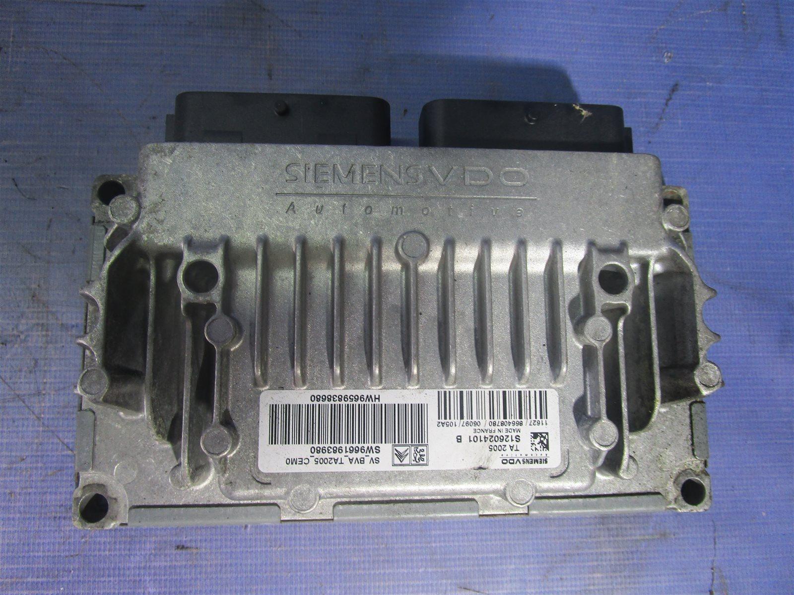 Блок управления акпп Citroen C4 TU5JP4 2008