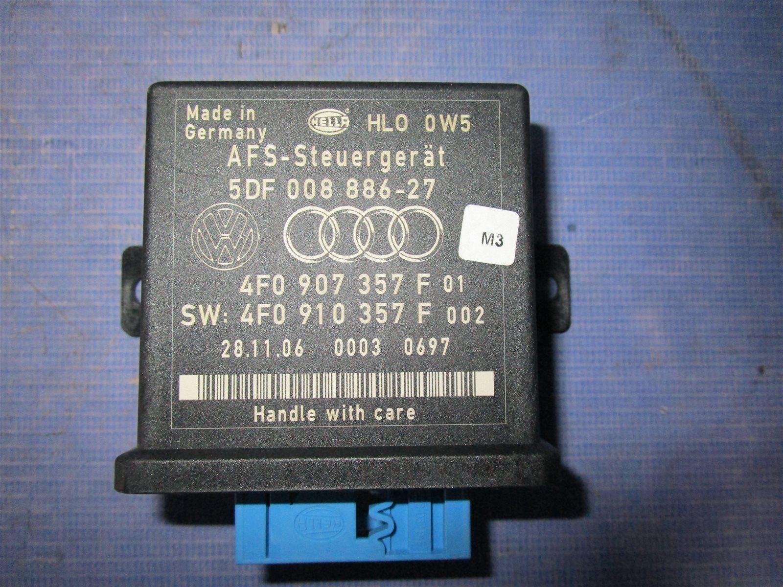 Блок управления адаптивного освещения и корректора фар Audi A6 C6 AUK 2006