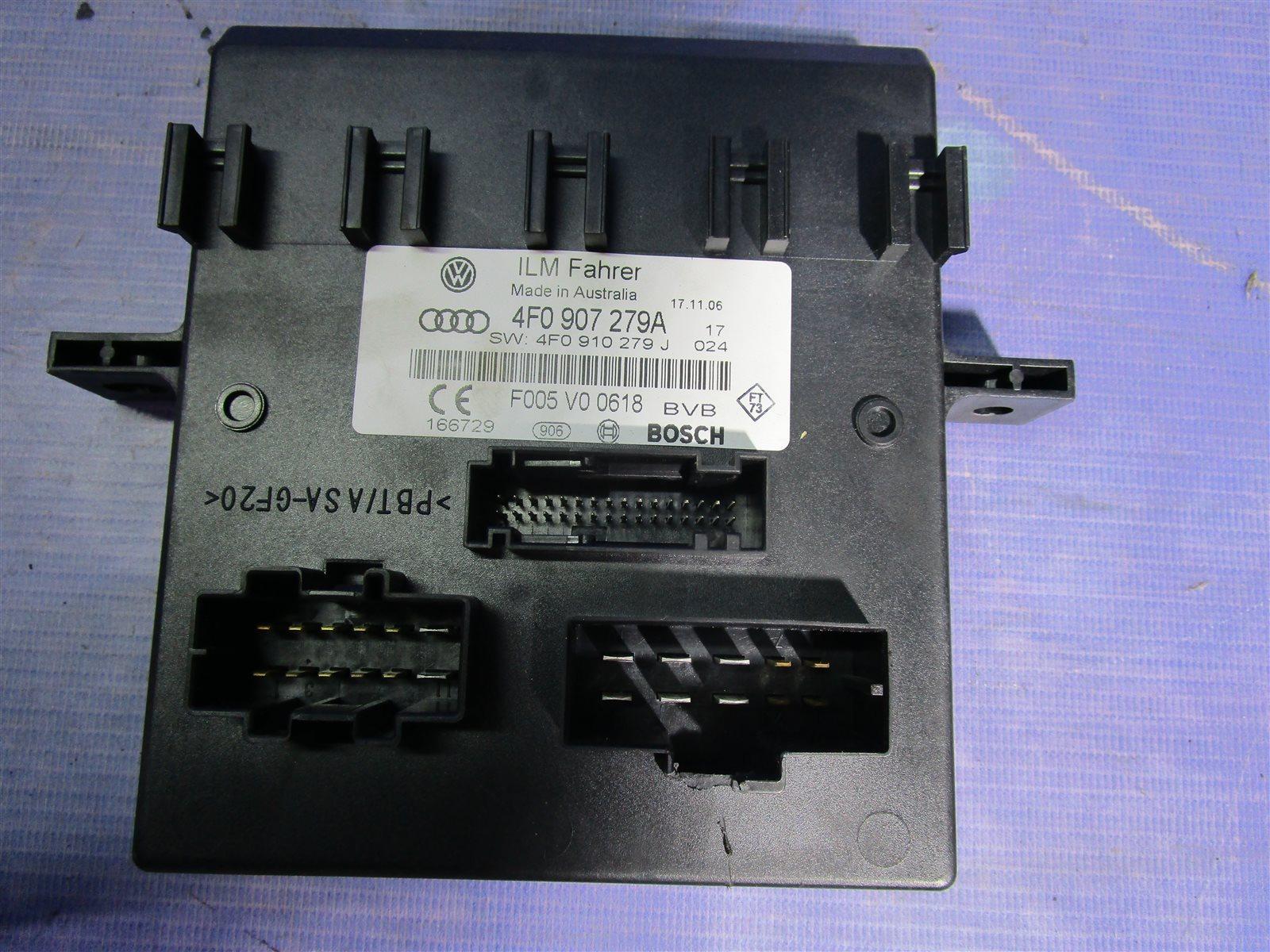 Блок управления бортовой сети Audi A6 C6 AUK 2006