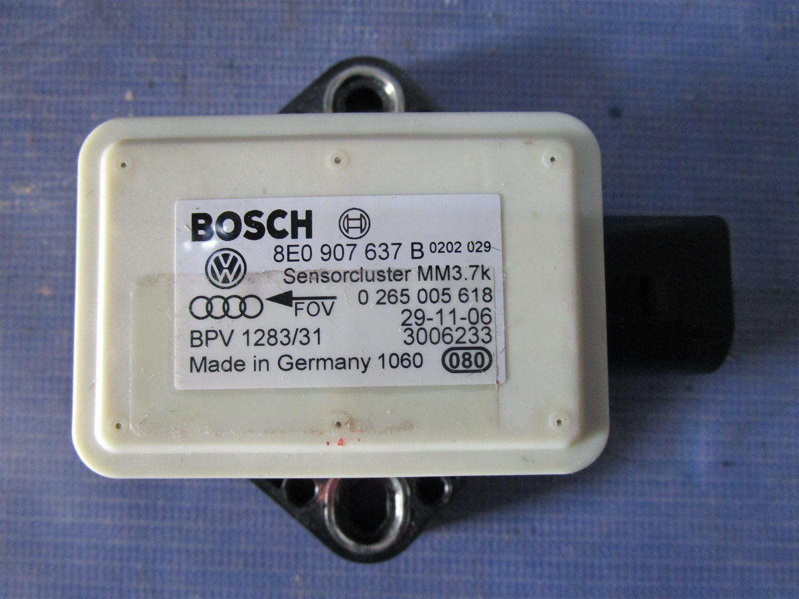 Датчик ускорения Audi A6 C6 AUK 2006
