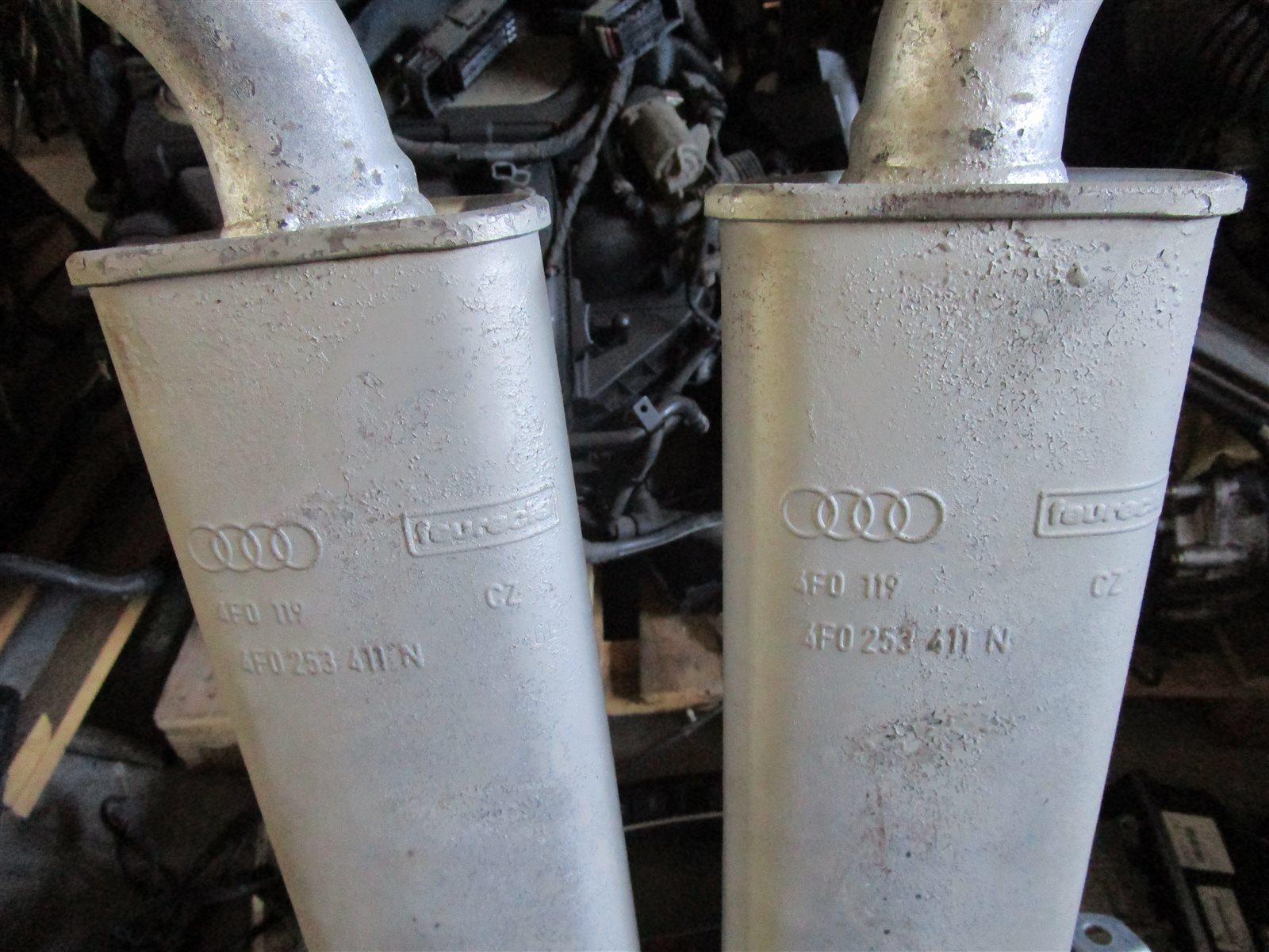 Труба выхлопная Audi A6 C6 AUK 2006