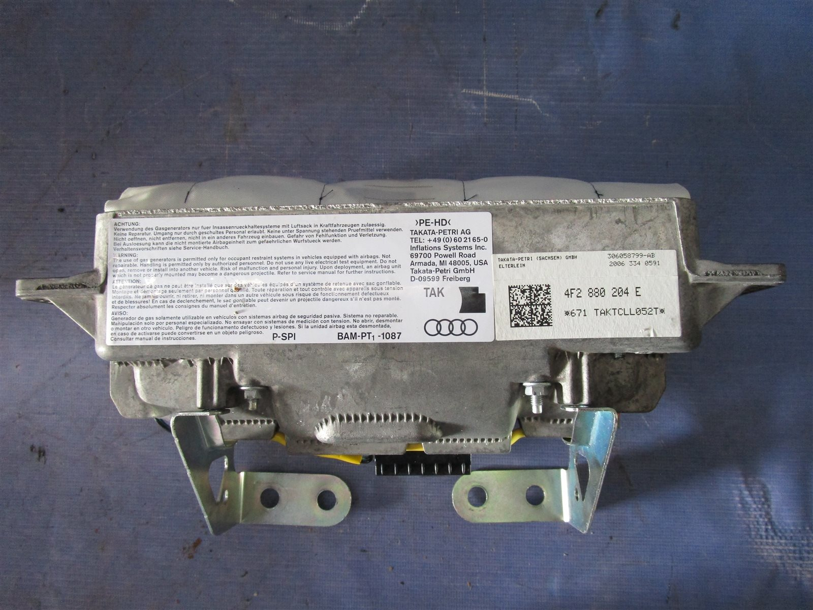 Подушка безопасности Audi A6 C6 AUK 2006
