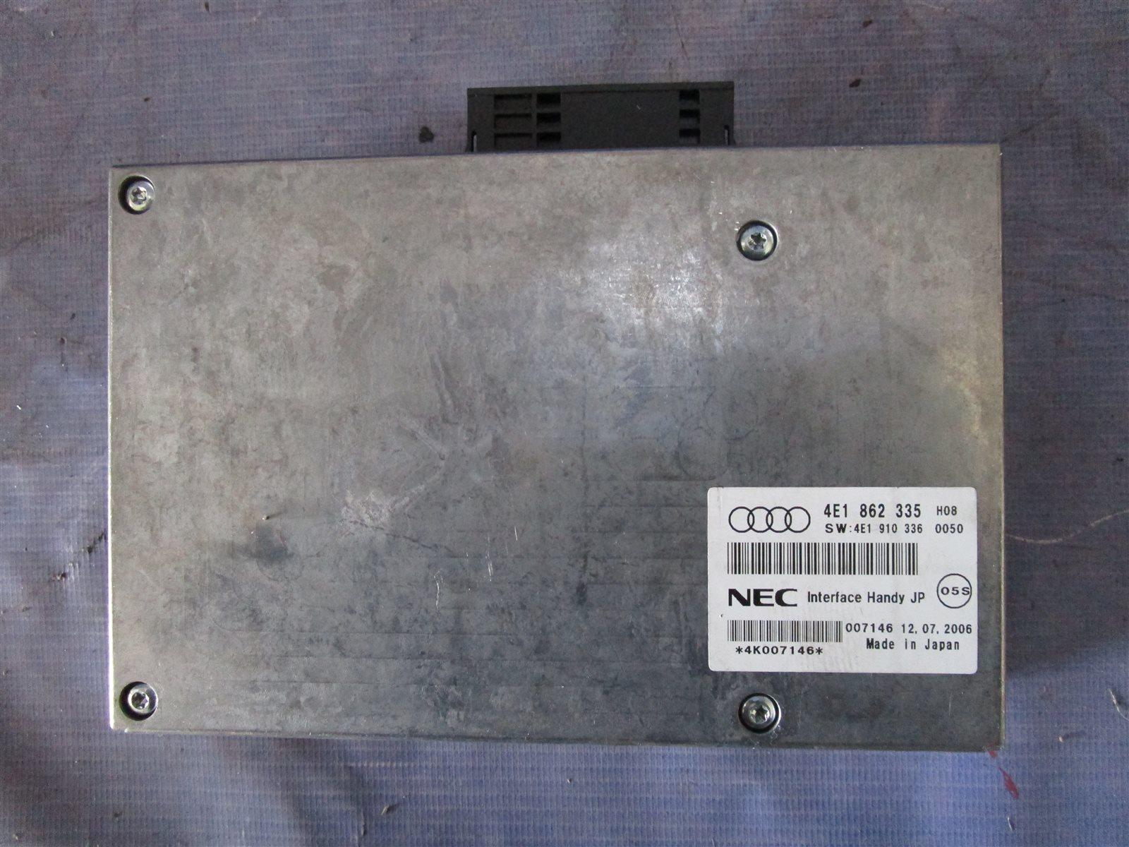 Блок интерфейсный Audi A6 C6 AUK 2006