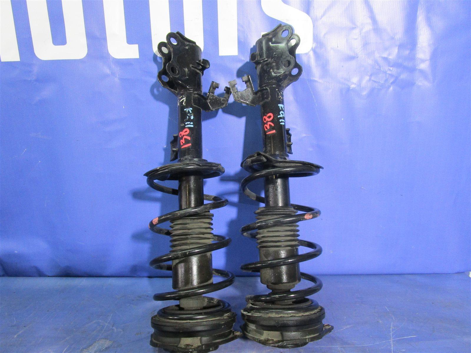 Амортизаторы Nissan Bluebird Sylphy KG11-009471 MR20DE 2012.05 передние