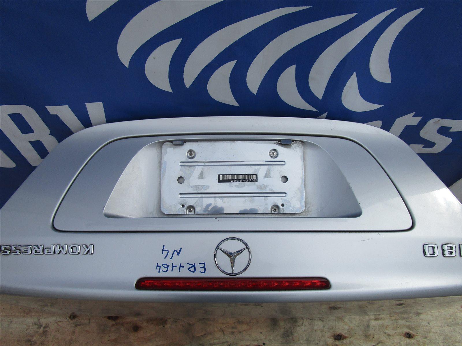 Крышка багажника Mercedes-Benz Kompressor 180 W203