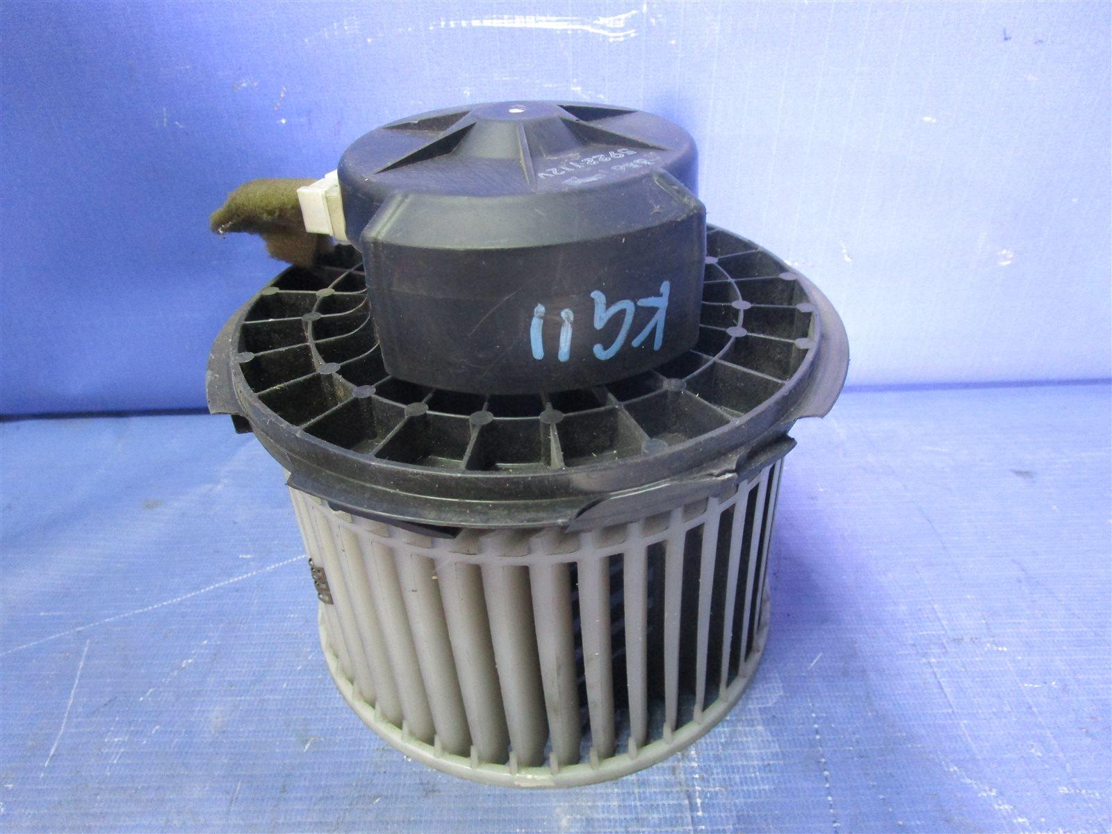 Мотор печки Nissan Bluebird Sylphy KG11-009471 MR20DE 2012.05
