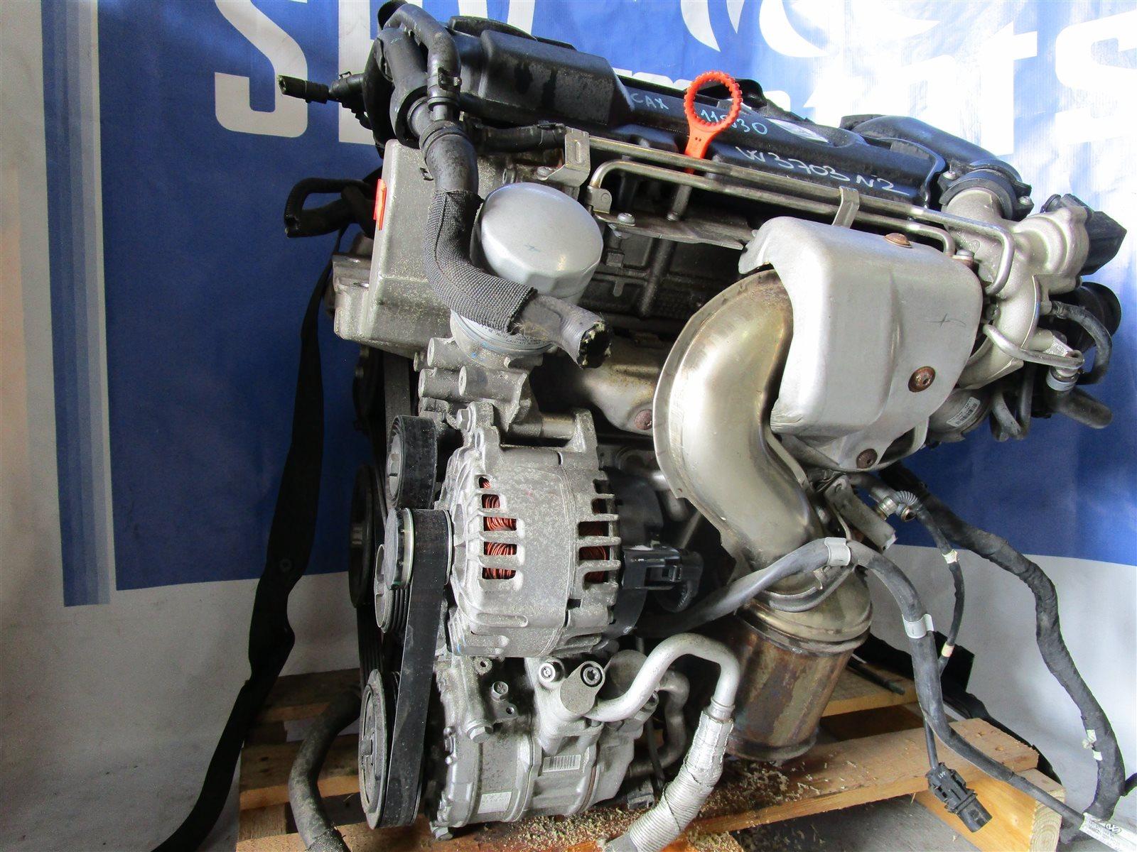 Двигатель Volkswagen Golf 6 5K14G5 CAXA 2012