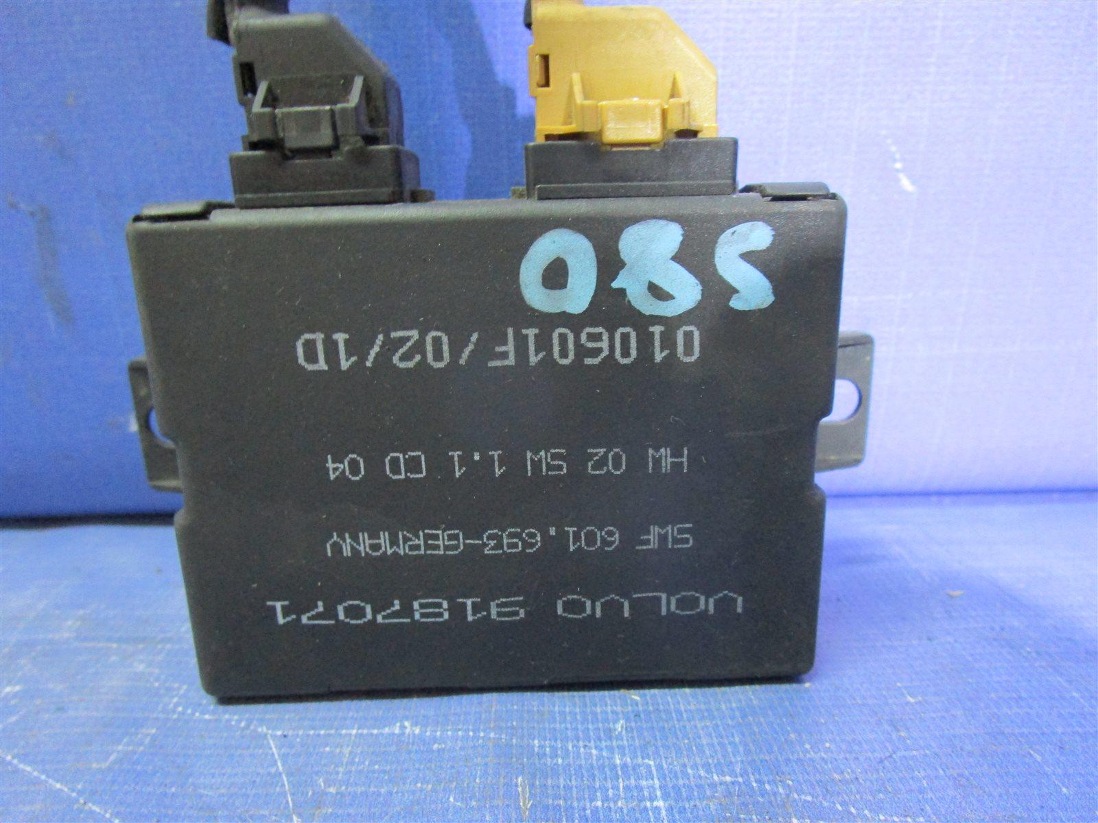 Блок управления парктроником Volvo S80 B6324S