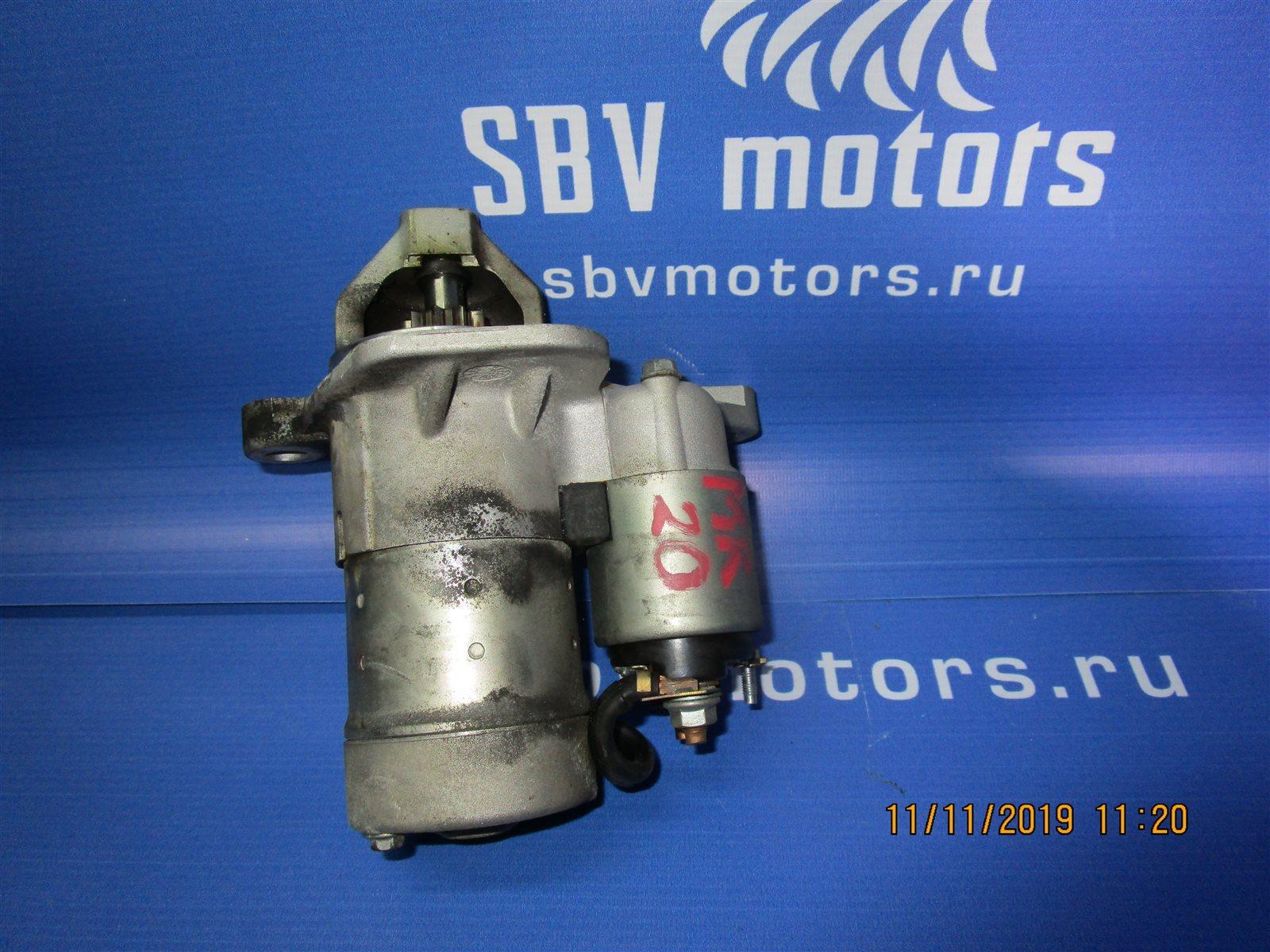 Стартер Nissan Bluebird Sylphy KG11-009471 MR20DE 2012.05