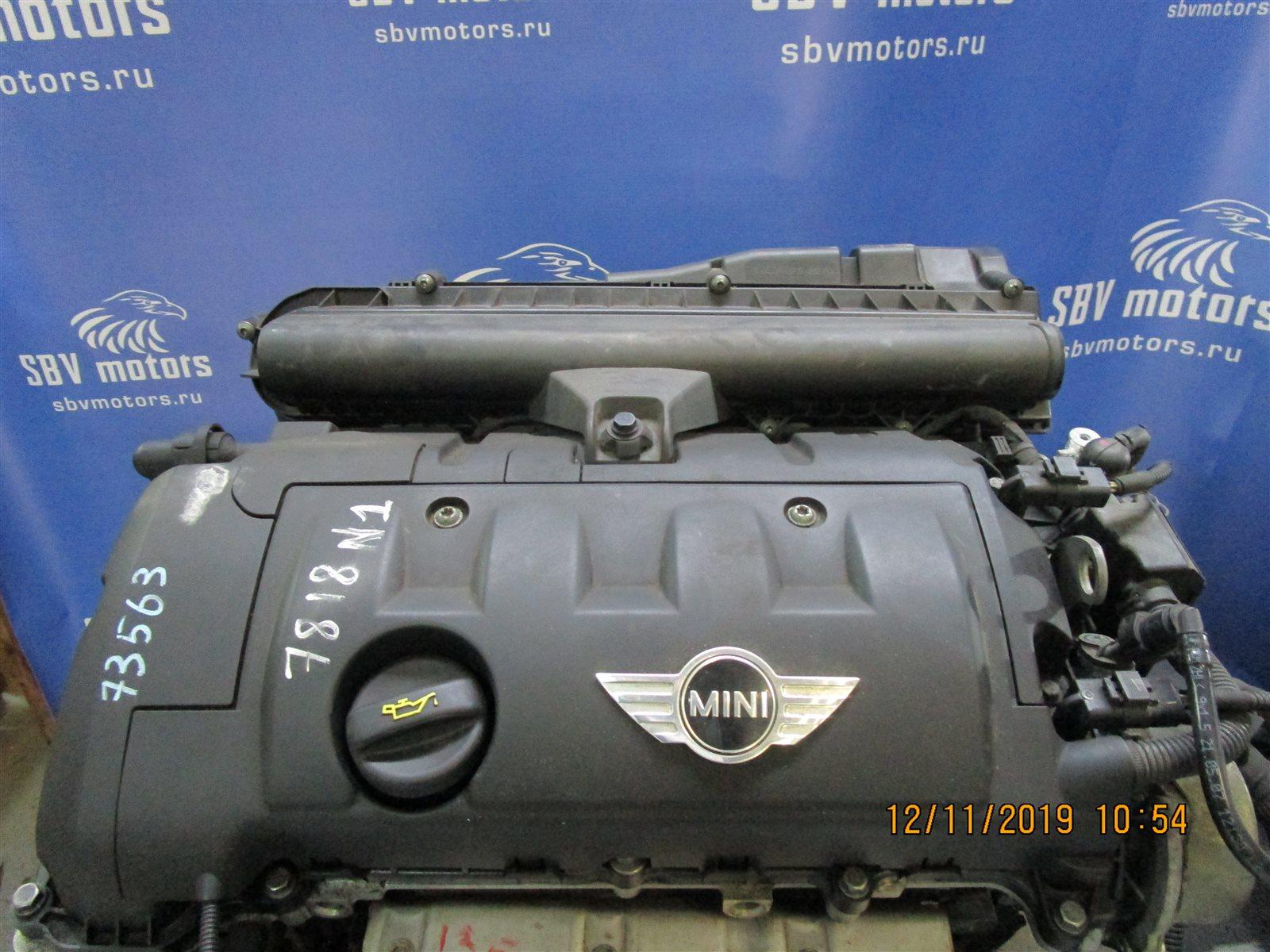 Двигатель Mini Cooper R56 N12B14A 2007